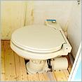 水洗トイレ完備